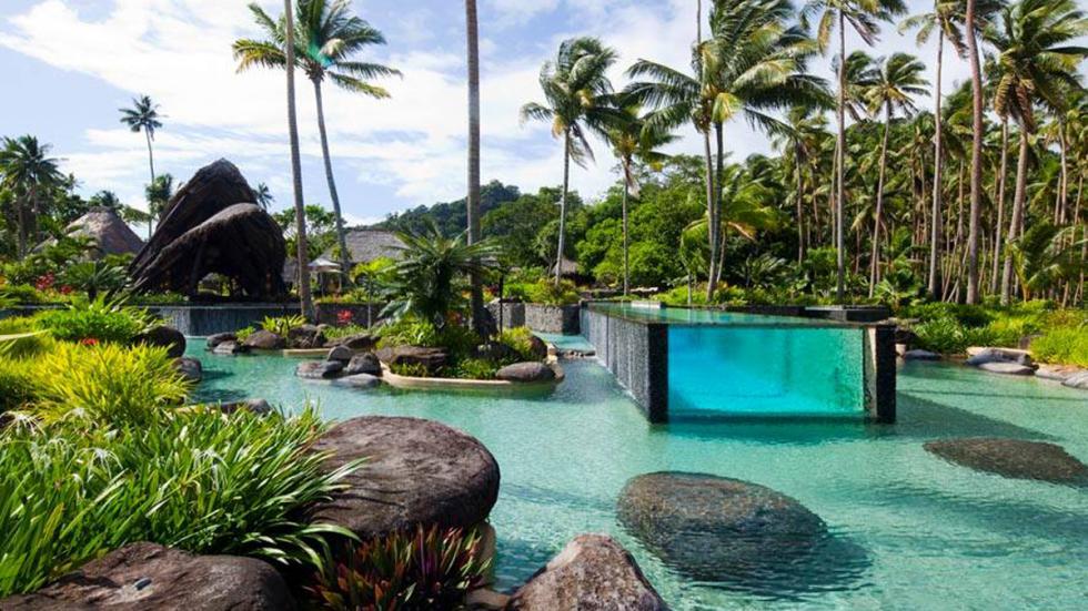 Isla Laucala en Fiyi