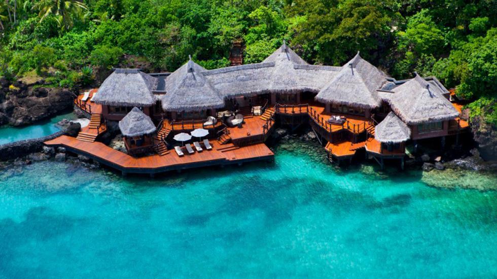 Villas en la isla Laucala