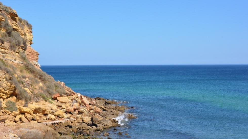 Burgau, en el Algarve.