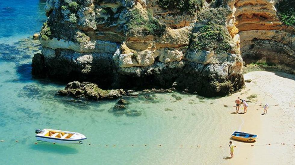 Praia do Camilo, en el Algarve. Foto: Turismo de Portugal.