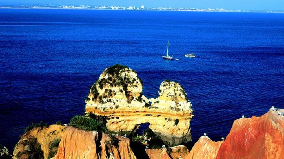 Ponta da Piedade, en el Algarve.