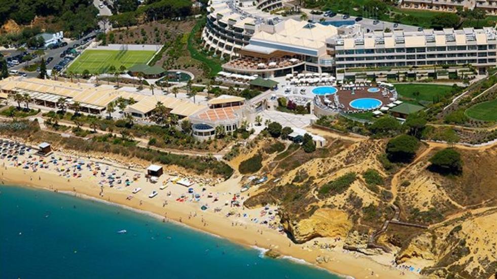 Una de las playas del Algarve