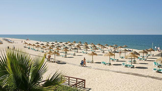 Una de las playas del Algarve.