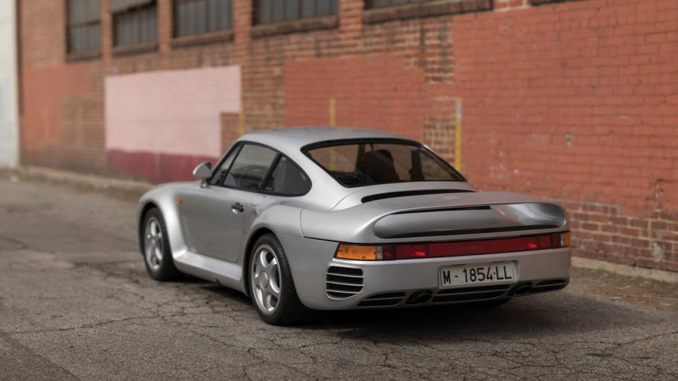 Porsche 959 Komfort trasera madrid