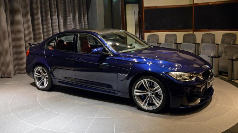 BMW M3 Individual Tanzanita