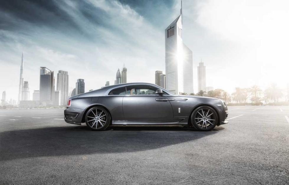 El Rolls-Royce Wraith de Ares Design interior