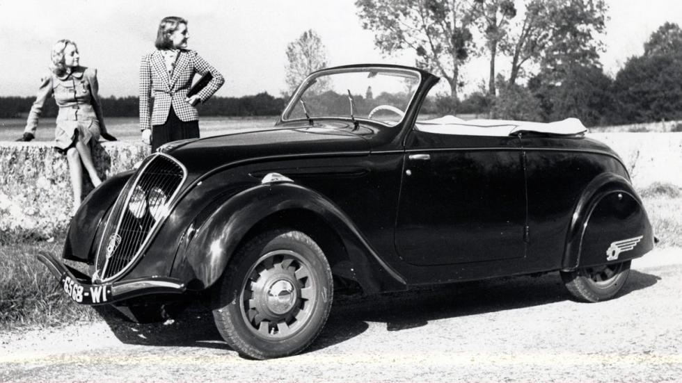 Peugeot 202 Cabriolet delantera