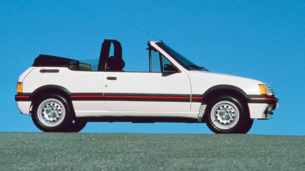 Peugeot 205 CTi lateral