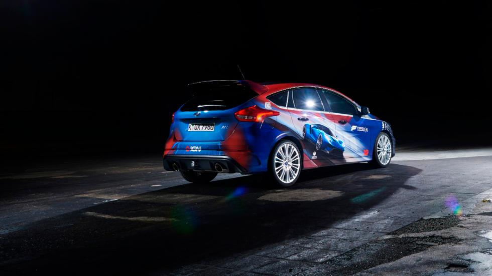 Ford Focus RS con diseño exclusivo para la  Gamescom