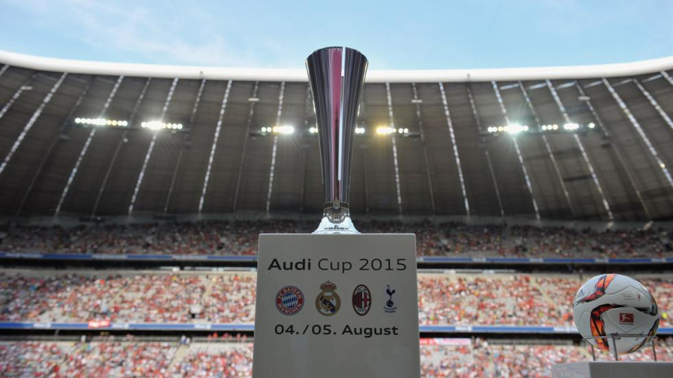 Audi Cup 2015 trofeo