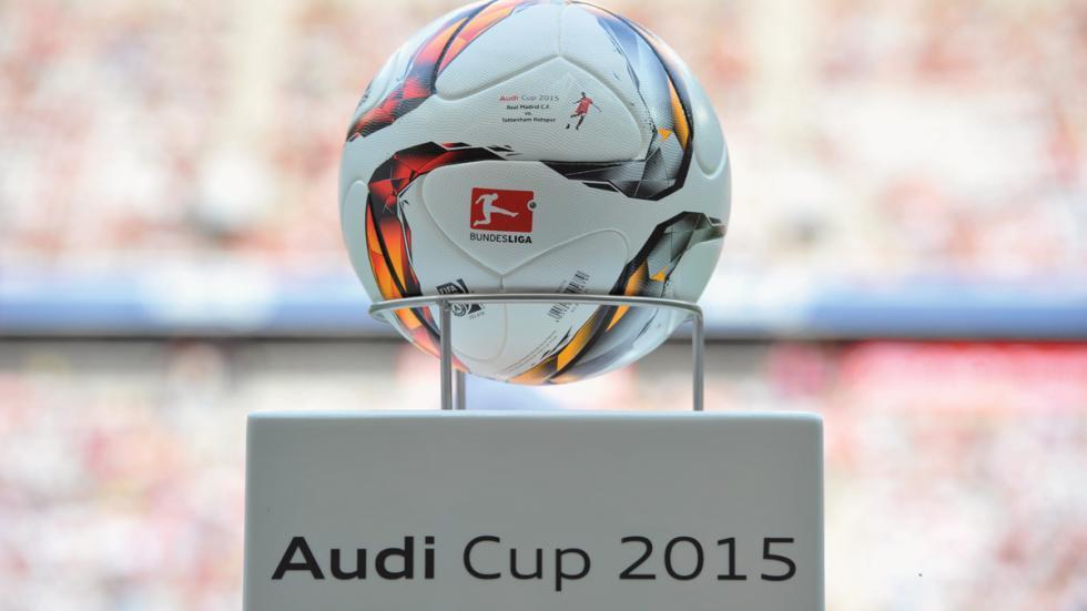 Audi Cup 2015 balón