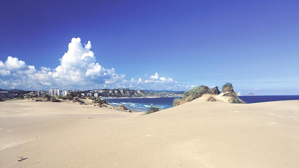 Playa del Espartal - Monumento Natural (Castrillón)