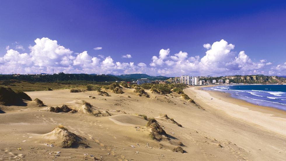 Playa del Espartal - Monumento Natural (Castrillón).