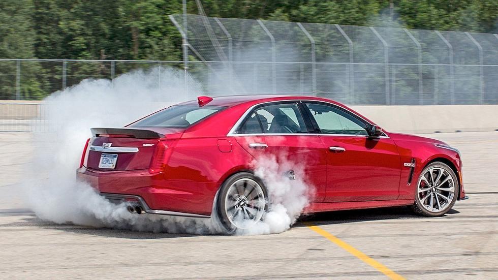 Prueba: Cadillac CTS-V derrape