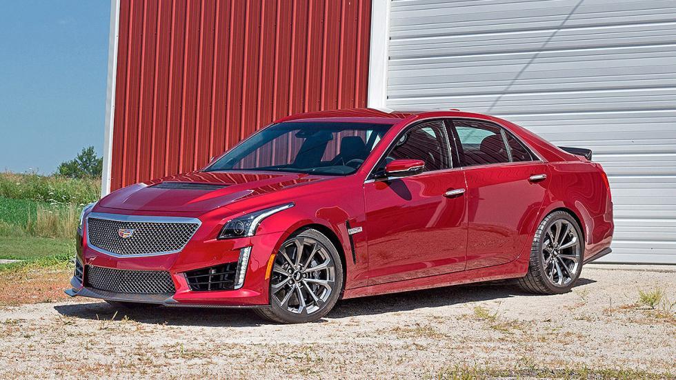 Prueba: Cadillac CTS-V 3 cuartos