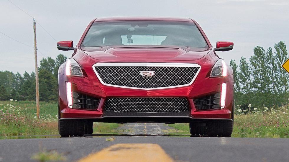 Prueba: Cadillac CTS-V 3 morro