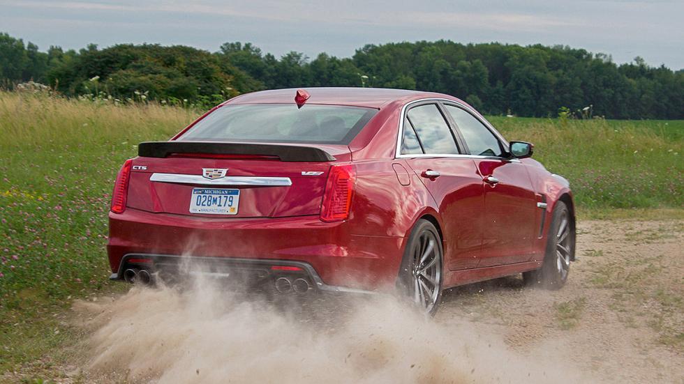 Prueba: Cadillac CTS-V 3 pista