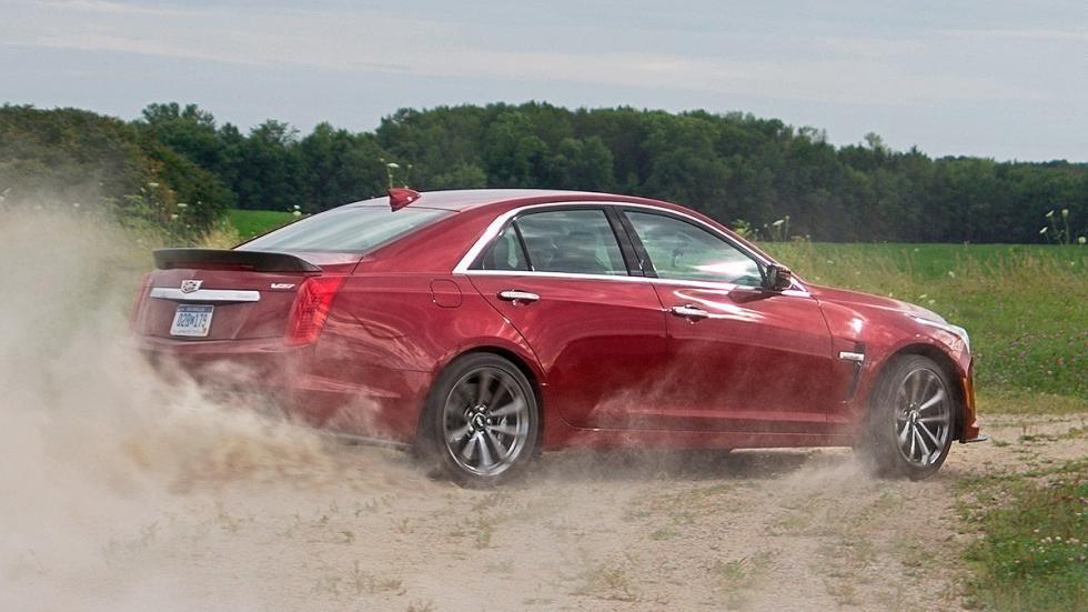 Prueba: Cadillac CTS-V 3 pista 3 cuartos