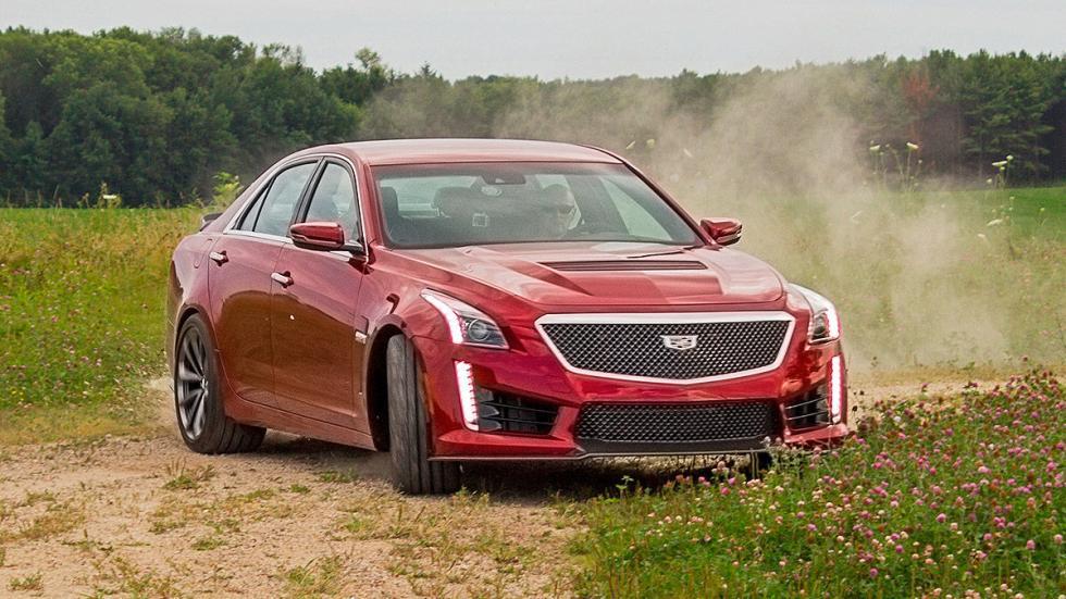 Prueba: Cadillac CTS-V morro en pista