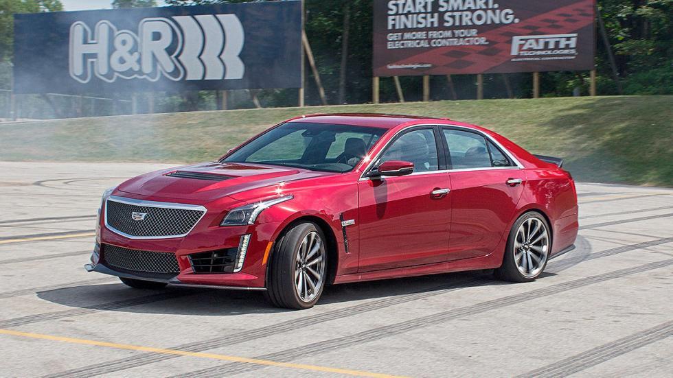 Prueba: Cadillac CTS-V frontal