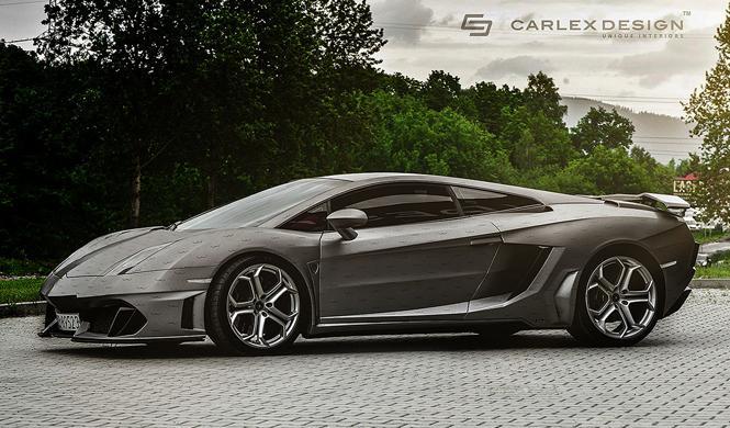Lamborghini Gallardo Carlex Design lateral