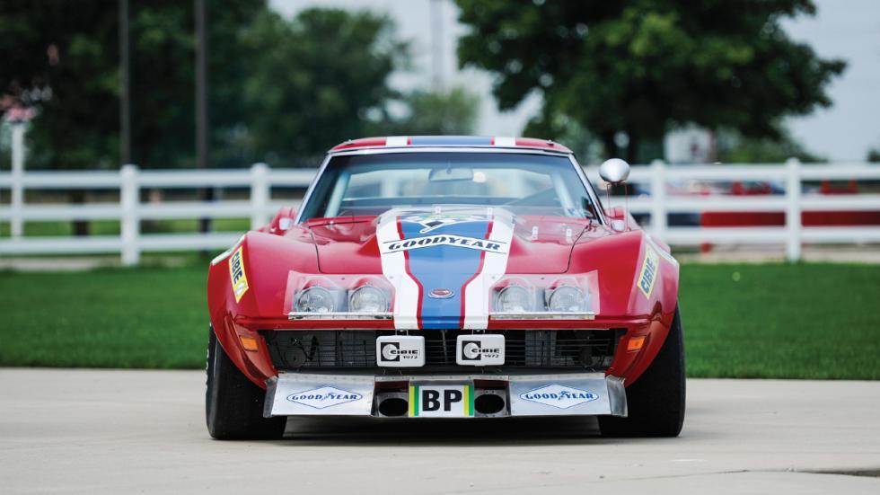 Corvette L88 RED NART subasta frontal
