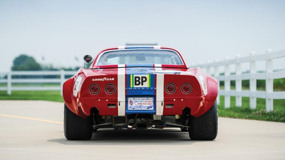 Corvette L88 RED NART subasta trasera
