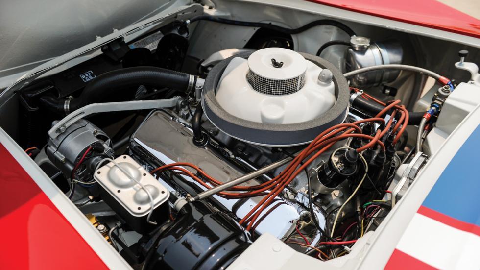 Corvette L88 RED NART subasta motor