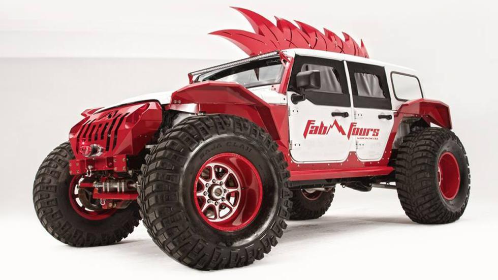 Jeep Wrangler salvaje fab fours cresta