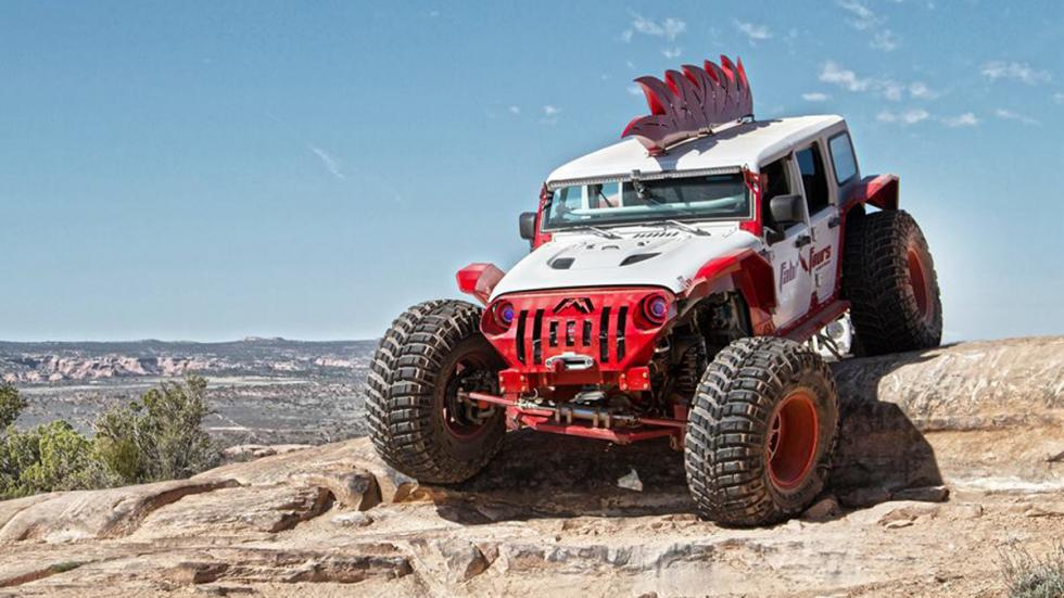 Jeep Wrangler salvaje fab fours off road