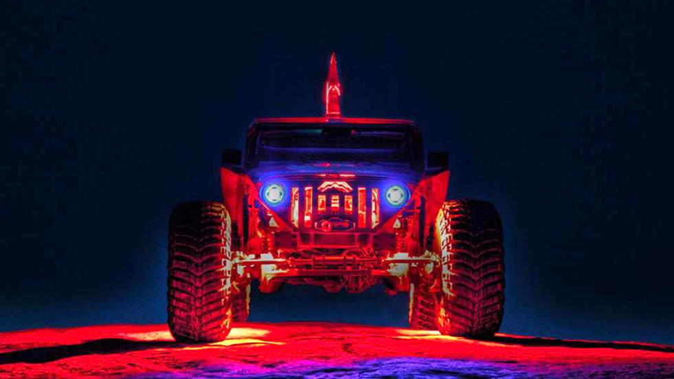 Jeep Wrangler salvaje fab fours nochw
