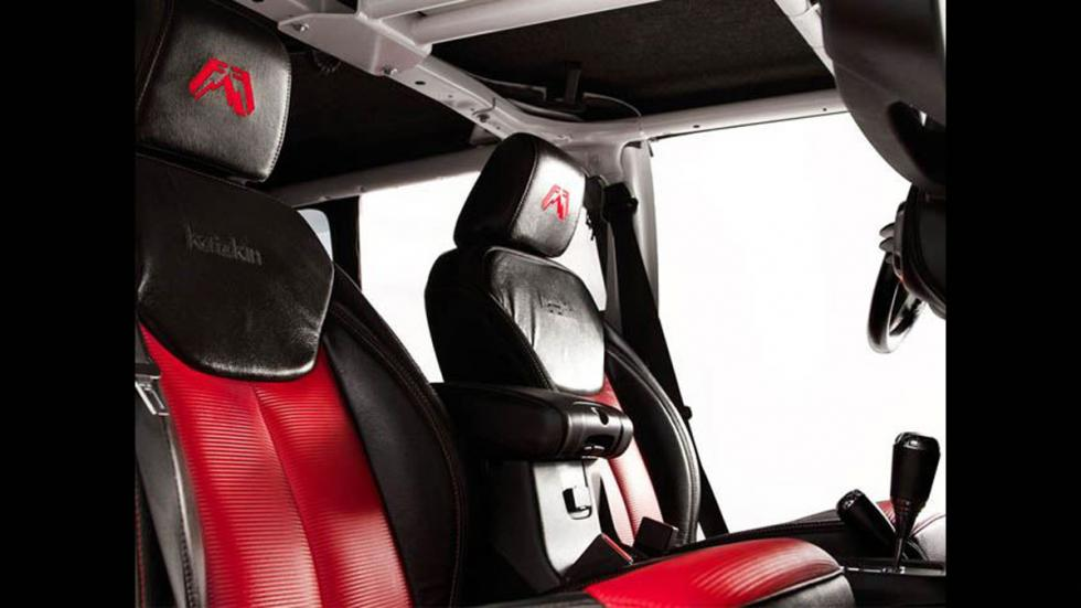 Jeep Wrangler salvaje fab fours asientos