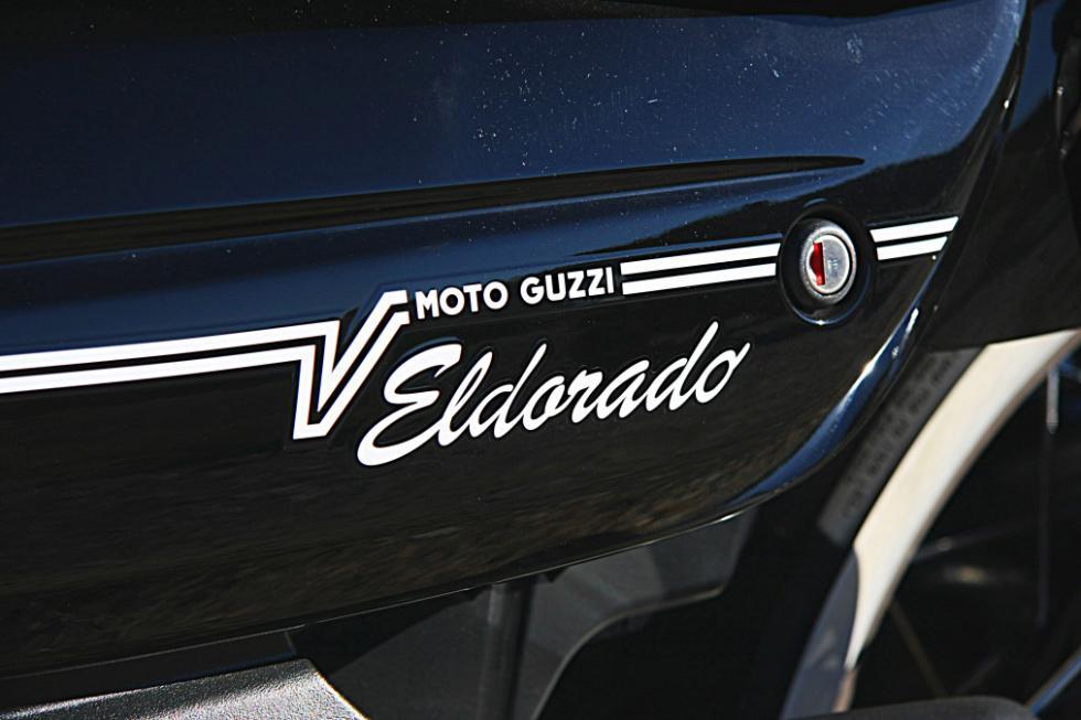 Moto Guzzi Eldorado 1400. El nombre lo dice todo...