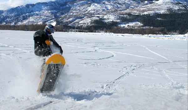Moto para la nieve Mattracks Powerboard