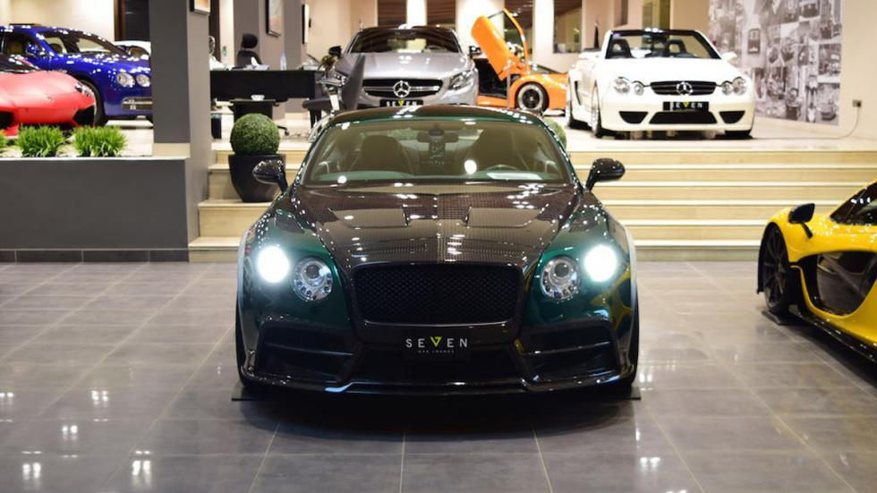 Bentley Continental GT Race Mansory venta frontal