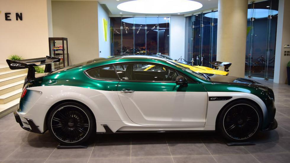 Bentley Continental GT Race Mansory venta lateral