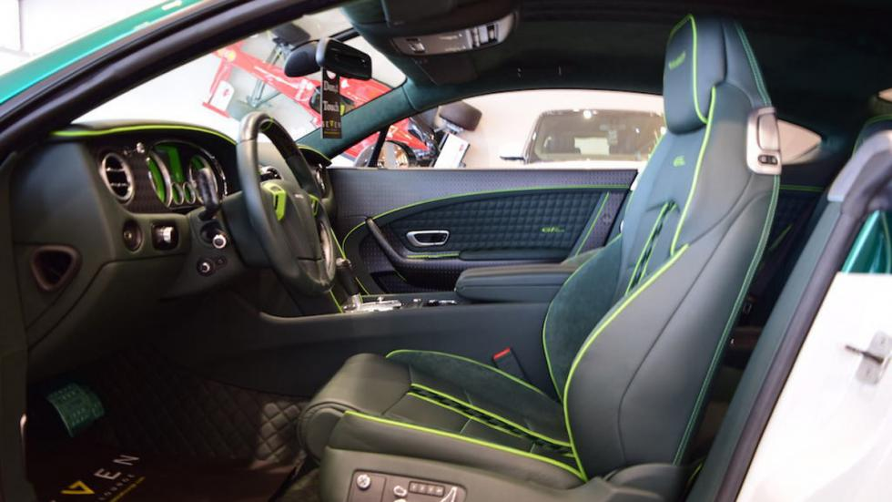 Bentley Continental GT Race Mansory venta asiento