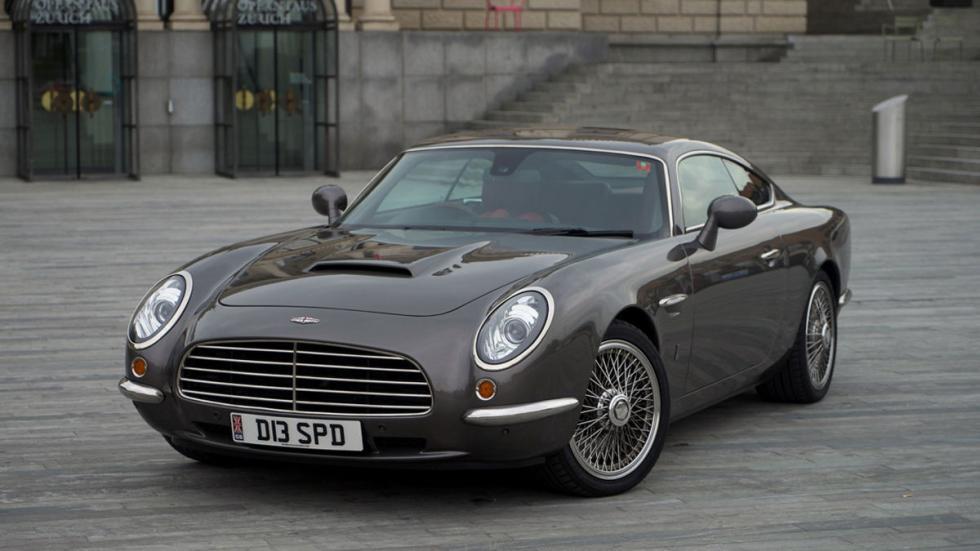 David Brown Automotive, de Coventry, lo homenajeó con su Speedback GT hace pocos