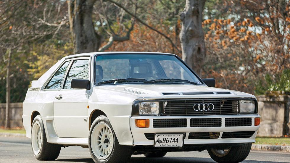 El Audi Sport quattro se lanzó en 1984 para pulverizar circuitos.