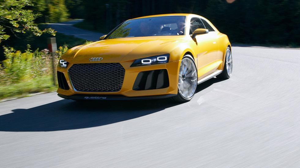 Audi mostró en 2013 el Sport quattro concept. Rendía 700 CV.