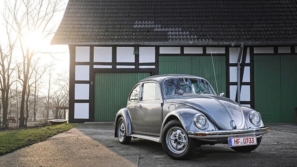 El Volkswagen Beetle (Escarabajo) se fabricó en Alemania entre 1938 y 2003.