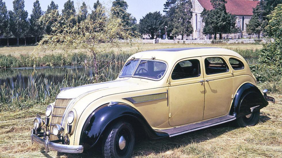 El Airflow de Chrysler se lanzó en 1930.