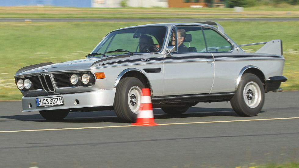 En 1971, sobre la base del E9 Coupé, BMW lanzó el primer 3.0-CSL-Coupé.