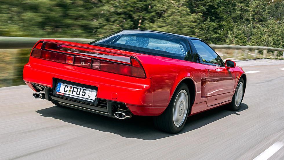 El diseño Honda NSXse basaba en un F16. Desde 1990. Con 280 CV.