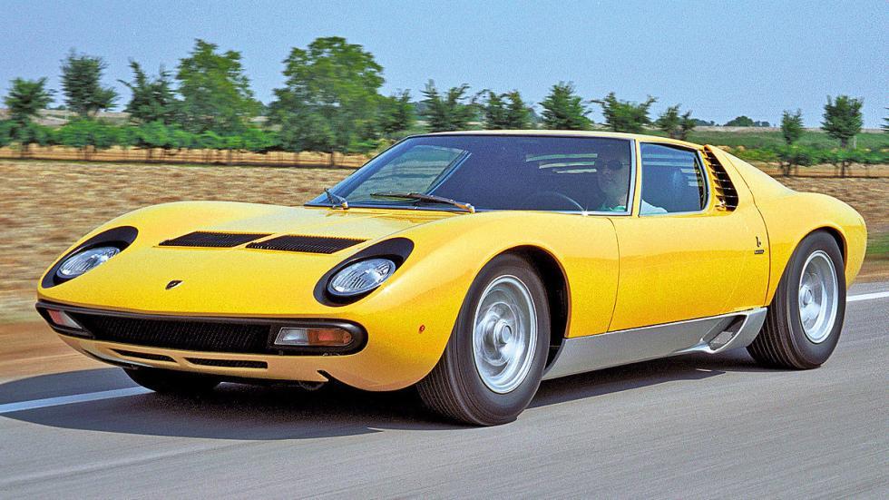 El Lamborghini Miura fue una respuesta clara a Ferrari. De1966 a 1973.