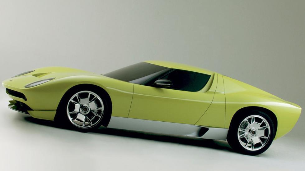 En el Salón de Detroit 2006, la marca celebró el 40 aniversario con este Miura