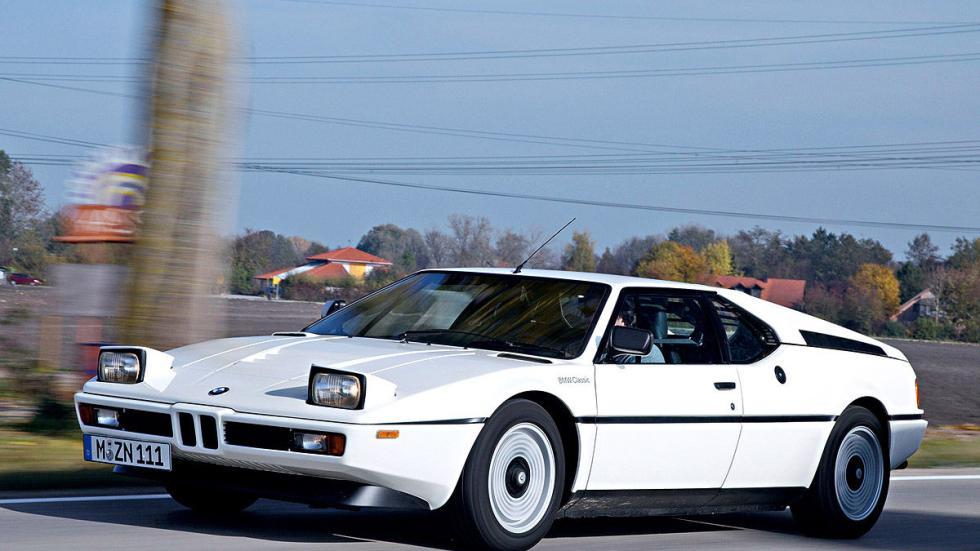 El BMW M1 se lanzó en 1978 orientado a la competición.
