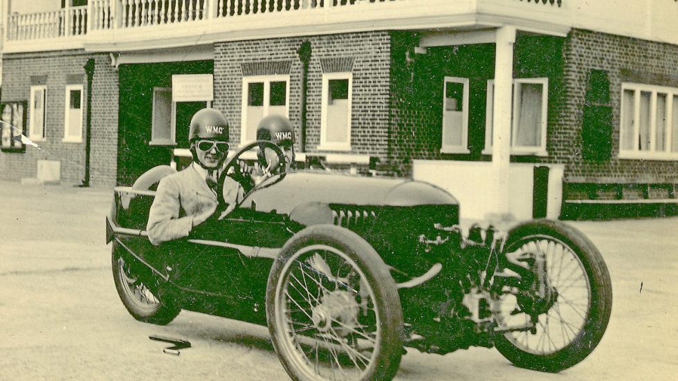 El Threewheeler de Harry Frederick Stanley Morgan, de 1909.