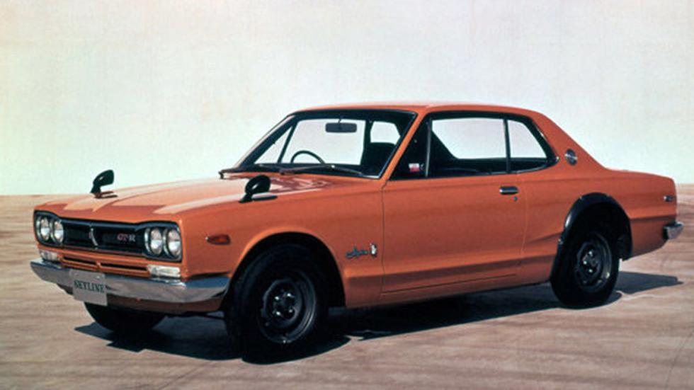 En 1968, Nissan presentó el Skyline de la generación C10.