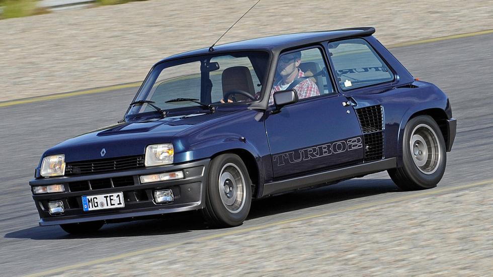 El Renault 5 Turbo se lanzó en 1980. Un máquina en circuito.